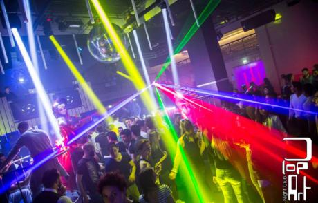 Évènement Discothèque, Labo M Arts / © Night club Pop Art