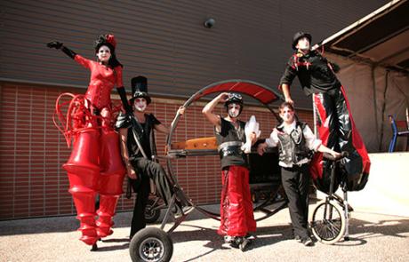 Baroque Circus, spectacle déambulatoire, Labo M Arts / © DR
