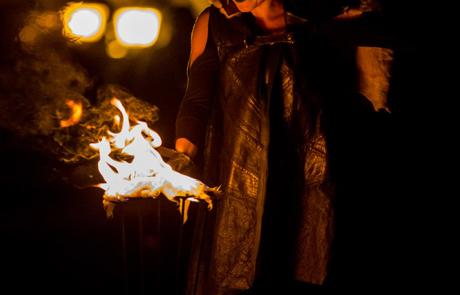 La magie de Noël, spectacle déambulatoire, Labo M Arts / © Jean-Claude Devaux