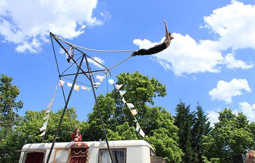 Corde volante, artistes - Labo M Arts