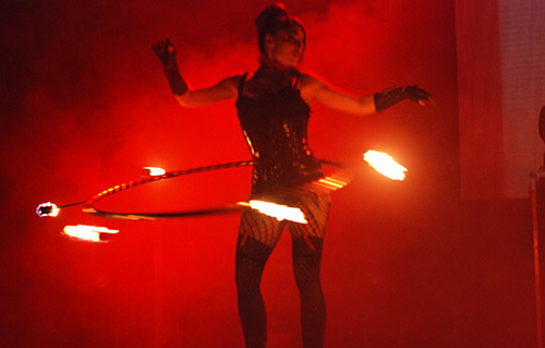 Hula hoop, artistes - Labo M Arts