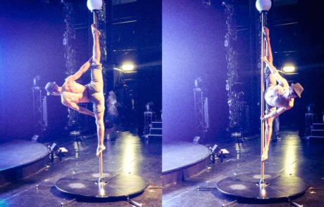 Pole dance, Labo M Arts / © DR