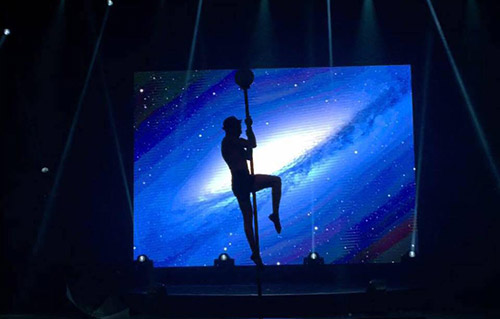 Pole dance, artistes - Labo M Arts