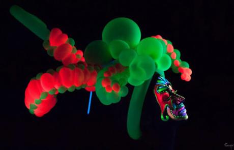 Sculpteurs sur ballons, Labo M Arts / © Serge Simon