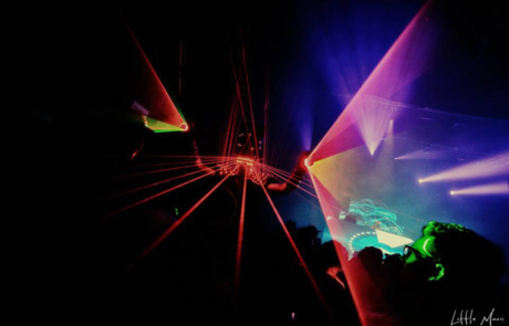 Show laser futuriste, Labo M Arts / © Little Marc