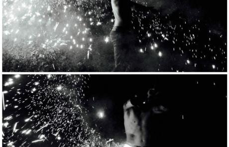 Spectacle de feu et de pyrotechnie, Labo M Arts / © DR