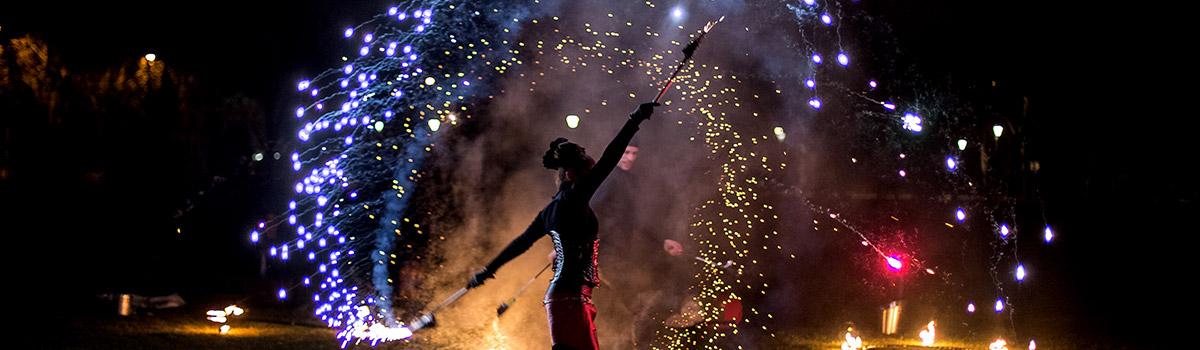 Feu & Pyrotechnie, Labo M Arts / © DR