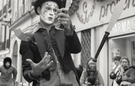 Baroque Circus, spectacle déambulatoire, Labo M Arts / © Akphoto