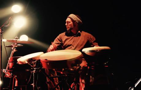 Musicien percussionniste musique du monde Labo M Arts @DR