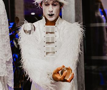 Balles de cristal- Noël- Labo M Arts @DR