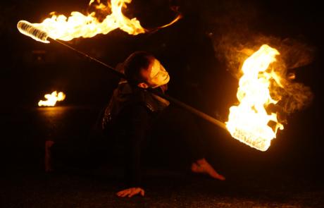 Jongleur de feu- Staff- Labo M Arts @DR