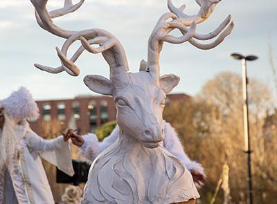 Parade de Noël- Winterland- Labo M Arts @Laurent Gambarelli