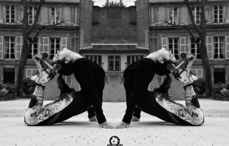 Danseuse sur rollers- Labo M Arts @Picturaline