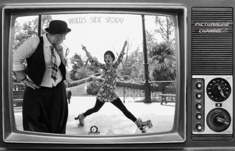 Danseuses sur rollers- Labo M Arts @Picturaline