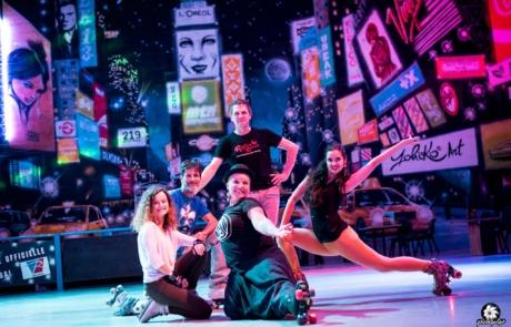 Danseurs sur rollers- Labo M Arts @Picturaline