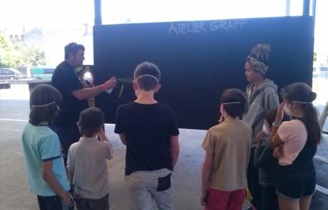 Atelier- Graffeur- Labo M Arts @DR