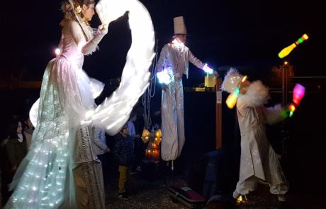 Echassiers lumineux- Labo M Arts @DR